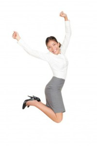 womanjumping